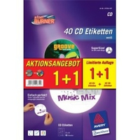 Avery CD/DVD Labels (Weiß)