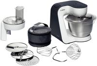 Bosch MUM52110 Küchenmaschine (Schwarz, Weiß)