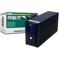 Digitus DN-170025 Unterbrechungsfreie Stromversorgung UPS (Schwarz)