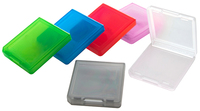 Bigben Interactive BB291872 Spielcomputertaschen u. Zubehör (Schwarz, Blau, Grün, Pink, Rot, Transparent)