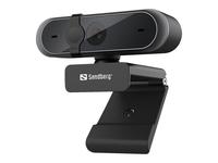 Sandberg USB Webcam Pro (Schwarz)