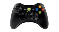 Microsoft Xbox 360 Wireless Controller for Windows (Schwarz)