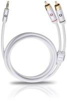 OEHLBACH 60001 Audio-Kabel (Weiß)