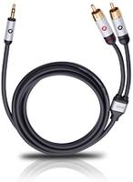 OEHLBACH 60002 Audio-Kabel (Schwarz)