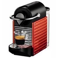 Krups Nespresso Pixie XN3006 (Schwarz, Rot, Edelstahl)