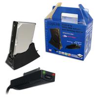 LogiLink USB 3.0 SATA Adapter (Schwarz)