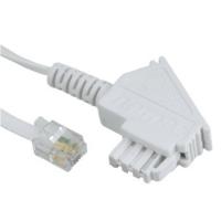 Hama 00044882 Telefonkabel (Weiß)