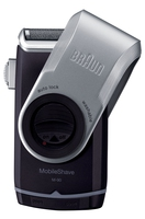 Braun MobileShave PocketGo M90 (Blau, Silber)