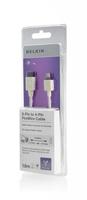 Belkin F3N403CP1.8M Firewire-Kabel (Weiß)
