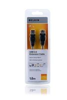 Belkin F3U153CP1.8M USB Kabel (Schwarz)