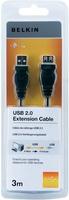 Belkin F3U153CP3M USB Kabel (Schwarz)