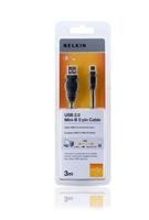 Belkin F3U155CP3M USB Kabel (Schwarz)