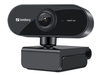 Sandberg USB Webcam Flex 1080P HD (Schwarz)