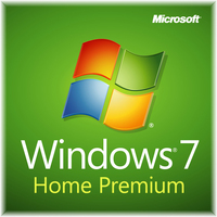Microsoft Windows 7 Home Premium, SP1, 64-bit, 1pk, DSP, OEM, DVD, DE