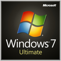 Microsoft Windows 7 Ultimate, SP1, 64-bit, 1pk, DSP, OEM, DVD, DE