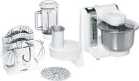 Bosch MUM48CR1 Küchenmaschine (Edelstahl, Weiß)
