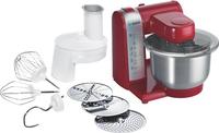 Bosch MUM48R1 Küchenmaschine (Rot, Edelstahl, Weiß)