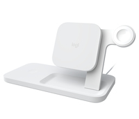 Logitech Powered 3-in-1 Dock Weiß Indoor (Weiß)