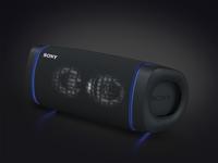 Sony SRS-XB33 Tragbarer Stereo-Lautsprecher Schwarz (Schwarz)