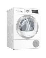 Bosch Serie 6 WTR85T81 Wäschetrockner Freistehend Frontlader 9 kg A++ Weiß (Weiß)