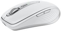 Logitech MX Anywhere 3 Maus rechts RF kabellos + Bluetooth 4000 DPI (Grau, Weiß)