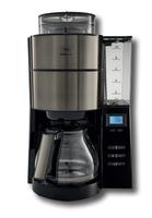 Melitta AromaFresh 1021-03 Filterkaffeemaschine (Schwarz, Grau, Metallisch)
