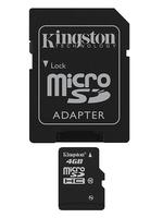 Kingston Technology 4GB microSDHC Card (Schwarz)