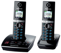 Panasonic KX-TG8062GB Telefon (Schwarz)