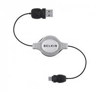 Belkin Micro-USB - USB A, 1 m (Schwarz, Grau, Schwarz)