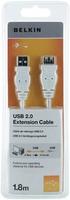 Belkin F3U153CP1.8MWHT USB Kabel (Weiß)