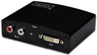 Digitus DS-40230 Video-Konverter (Schwarz)