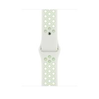 Apple MG3W3ZM/A Smartwatch-Zubehör Band Grün, Weiß Fluor-Elastomer (Grün, Weiß)
