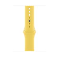 Apple MGQQ3ZM/A Smartwatch-Zubehör Band Gelb Fluor-Elastomer (Gelb)