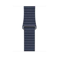 Apple MGXC3ZM/A Smartwatch-Zubehör Band Blau Leder (Blau)