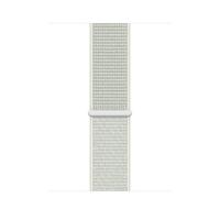 Apple MGQJ3ZM/A Smartwatch-Zubehör Band Grau, Weiß Nylon (Grau, Weiß)