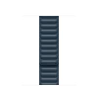 Apple 40mm Baltic Blue Leather Link - M/L Band Navy Leder (Navy)