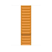 Apple MY9P2ZM/A Smartwatch-Zubehör Band Orange Leder (Orange)