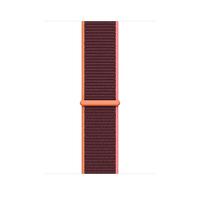 Apple MYA92ZM/A Smartwatch-Zubehör Band Bordeaux, Orange, Pink Nylon (Bordeaux, Orange, Pink)