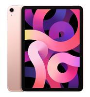 Apple iPad Air 4G LTE 256 GB 27,7 cm (10.9 Zoll) Wi-Fi 6 (802.11ax) iOS 14 Roségold (Roségold)