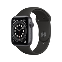 Apple Watch Series 6 44 mm OLED Grau GPS