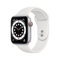 Apple Watch Series 6 44 mm OLED 4G Silber GPS