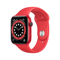 Apple Watch Series 6 44 mm OLED 4G Rot GPS