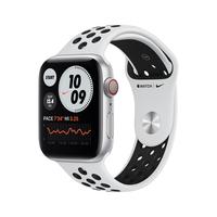 Apple Watch Series 6 Nike 44 mm OLED Silber GPS