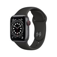 Apple Watch Series 6 40 mm OLED 4G Grau GPS