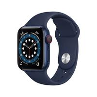 Apple Watch Series 6 40 mm OLED 4G Blau GPS
