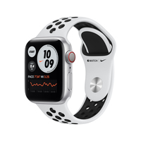 Apple Watch Series 6 Nike 40 mm OLED Silber GPS