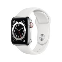 Apple Watch Series 6 40 mm OLED 4G Silber GPS