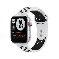 Apple Watch SE Nike 44 mm OLED 4G Silber GPS