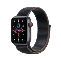 Apple Watch SE 40 mm OLED 4G Grau GPS