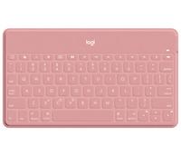 Logitech Keys-To-Go Pink Bluetooth Deutsch (Pink)